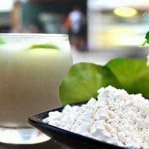 Bột sắn là một trong những thức uống giải rượu thần kì