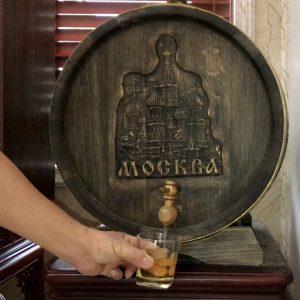 Rượu Nếp Quê ủ trong Thùng Gỗ Sồi